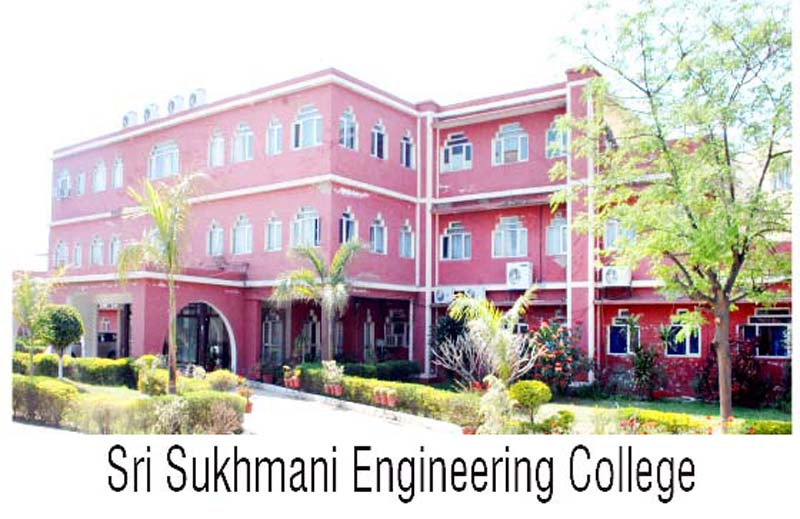 An external view of Sri Sukhmani Institute of Engineering and Technology, Dera Bassi, Punjab.