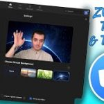 How to turn on virtual backgrounds in Zoom